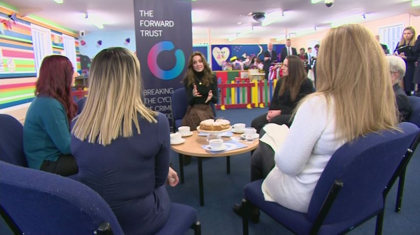 The Duchess of Cambridge visits Womens' Prison