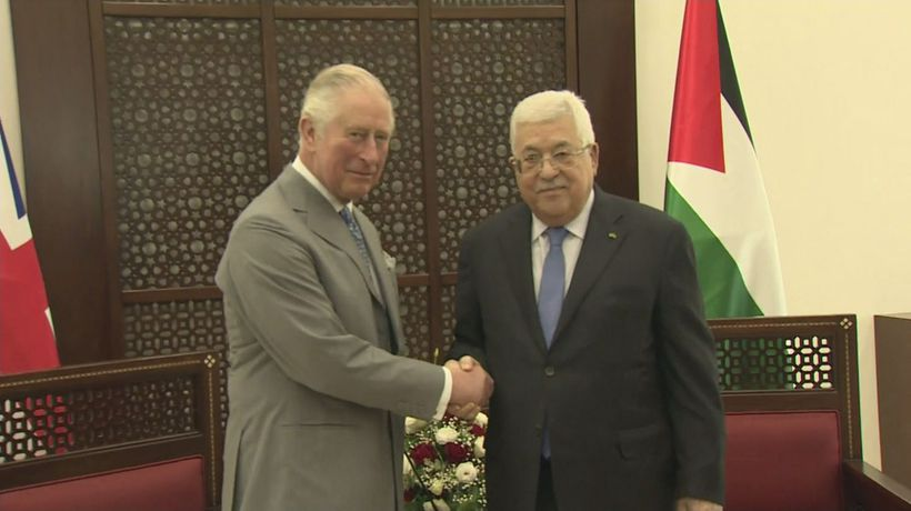 Prince Charles attends events in Jerusalem and Bethlehem