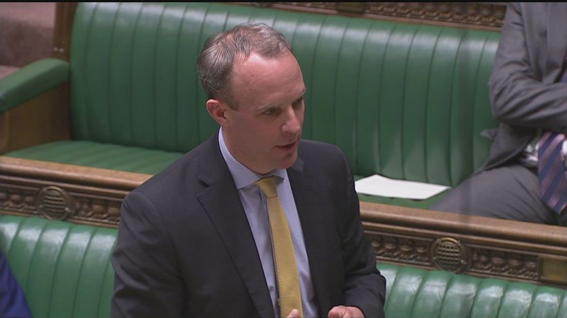 Raab challenged over British citizens stranded abroad