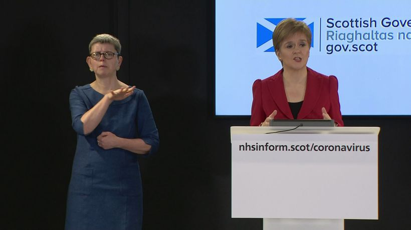 Sturgeon says 22 people have died in Scotland from COVID-19
