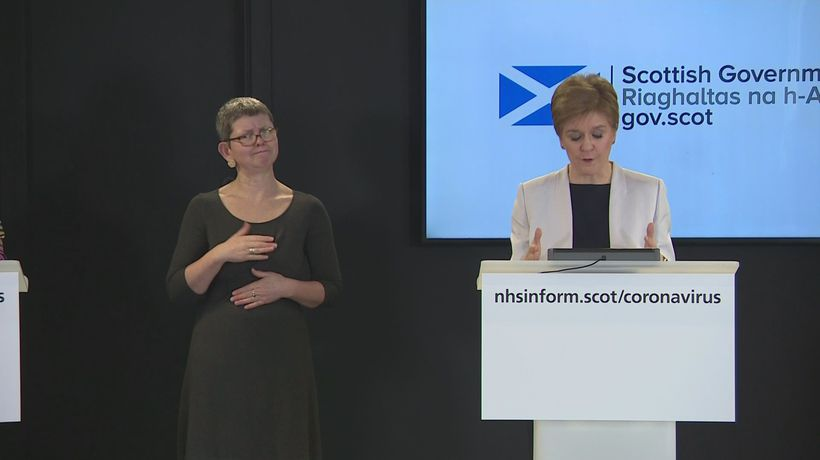 Sturgeon: 'We all need to be kind to each other'