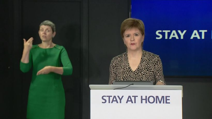 Sturgeon: Mass gatherings are simply not safe