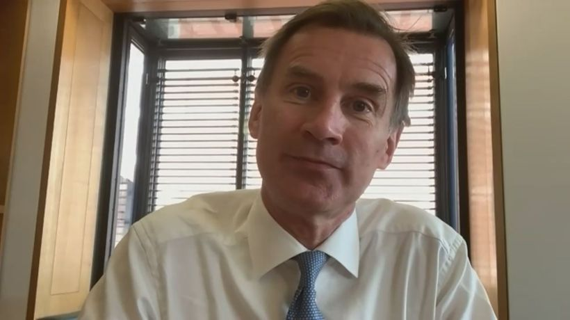 Hunt: We must 'ramp up testing' to mitigate second wave