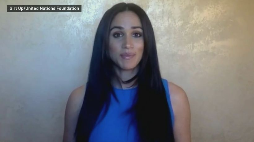 Meghan Markle delivers empowering speech to young women