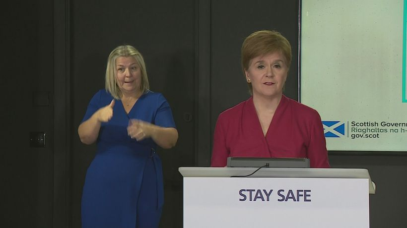 Nicola Sturgeon on Aberdeen lockdown