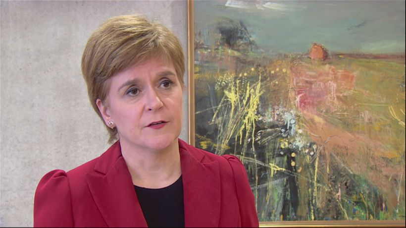 Nicola Sturgeon on 'devastating' train derailment
