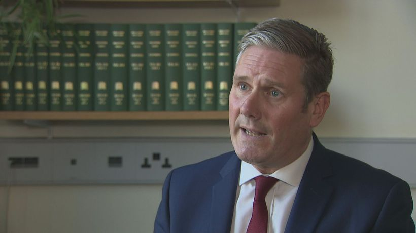 Sir Keir Starmer: Government has not got control of Covid