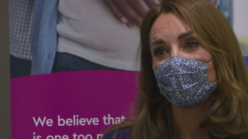 Duchess of Cambridge meets bereaved families