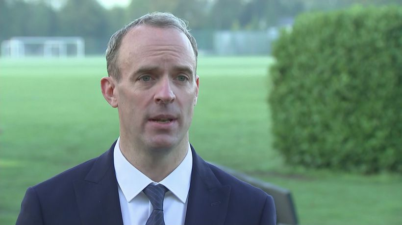 Raab accuses Labour of 'political confusion' over lockdown