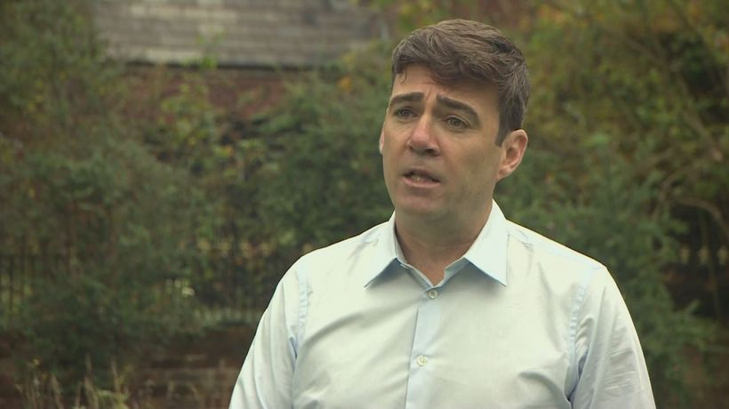Manchester Mayor Burnham calls for vote on financial support