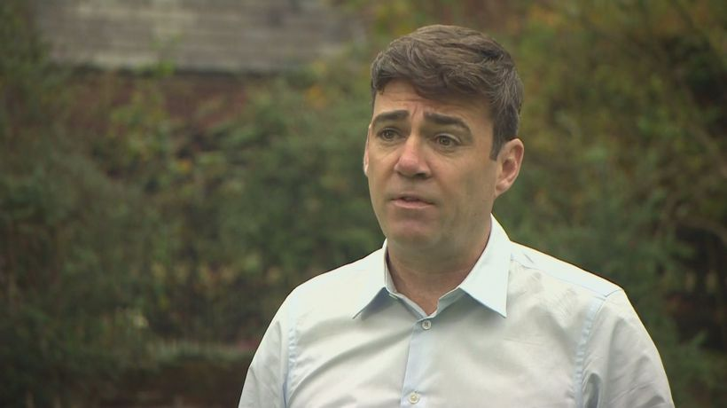 Greater Manchester Mayor Burnham says he has full support