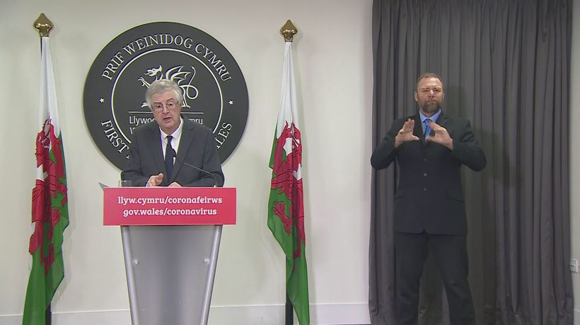 Wales announces 'sharp and deep' two week 'firebreak'