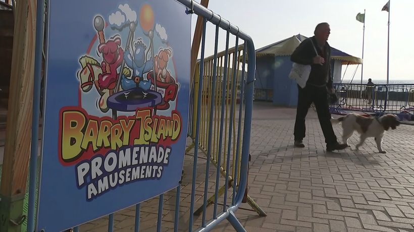 Barry Island businesses react to Wales lockdown news
