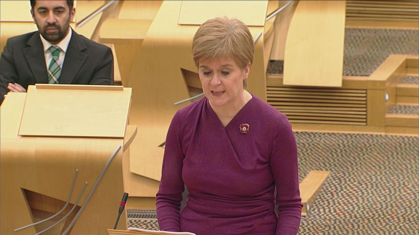 Sturgeon announces postcode checker for Covid restrictions