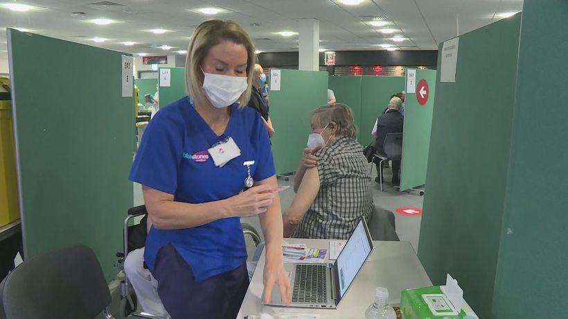 Ten new vaccination centres open as rollout widens