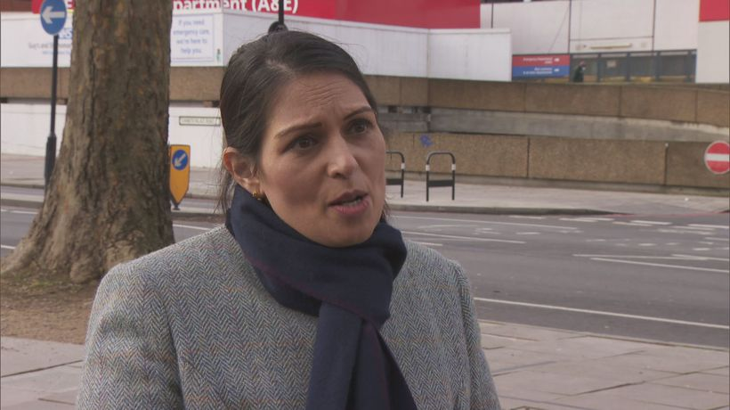 Priti Patel on support being provided to frontline police