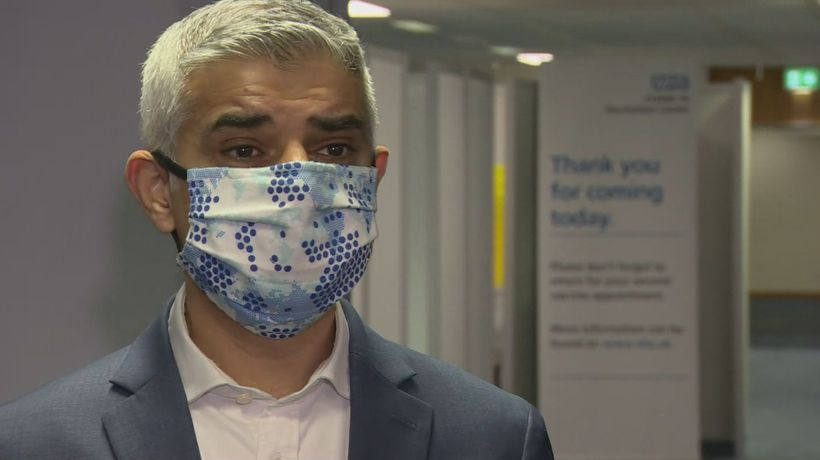 Mayor: London now getting more vaccine supply