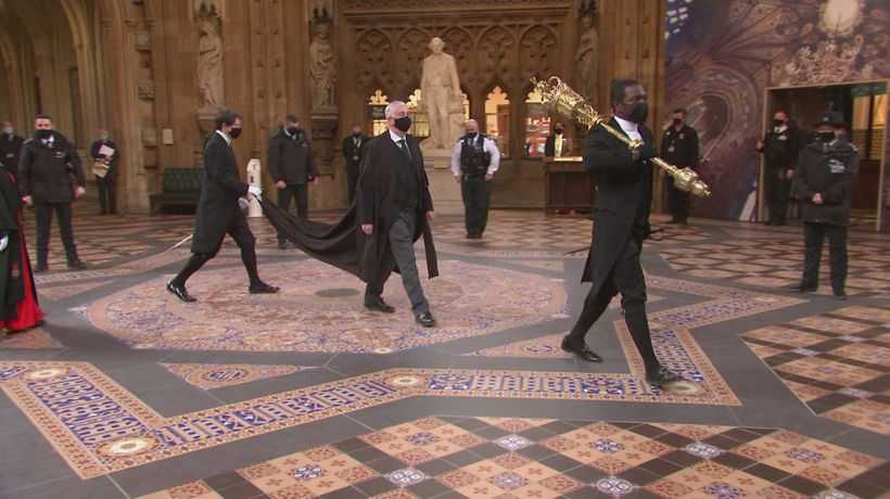 Speaker's Procession recalls MPs to pay tribute to Duke