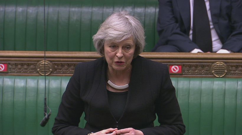 Theresa May praises Duke's unwavering commitment to Queen