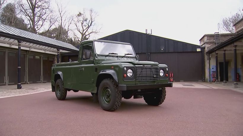 Land Rover Designed By Prince Philip Will Carry His Coffin