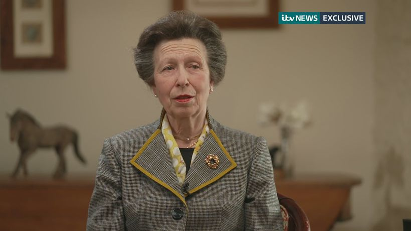 Princess Anne reflects on how similar she is to her father