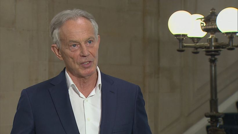 Tony Blair asked what he would do about June 21 reopening