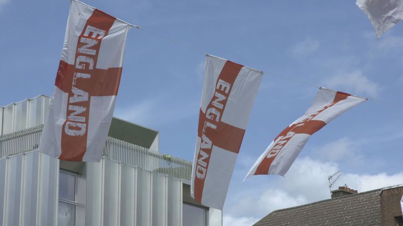 England fans in Bermondsey gear up for start of Euro 2020