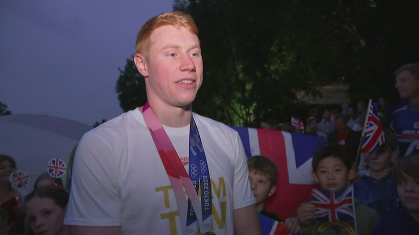 Team GB's Tom Dean on his Olympic success