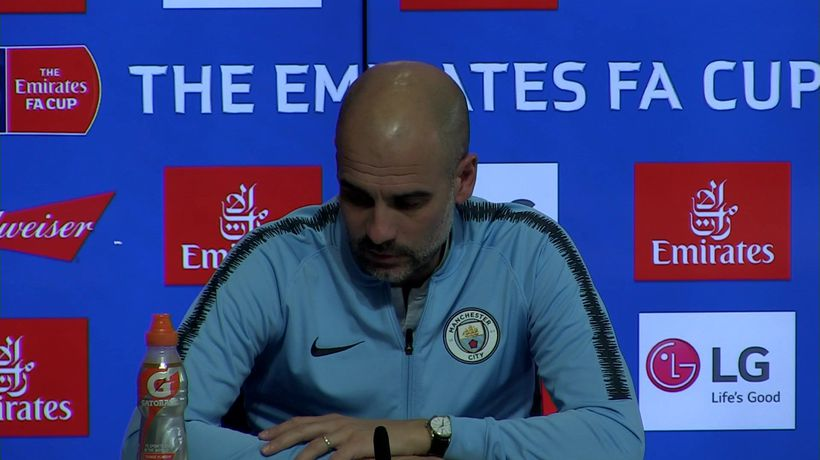 Guardiola - Reaction To Champs Lg Draw