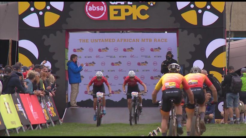 Highlights from Prologue stage of Cape Epic