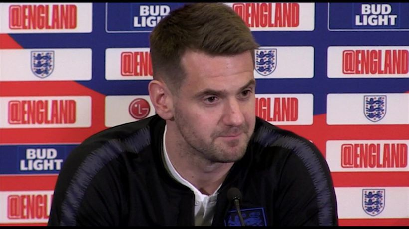 Great to be back with England - Heaton