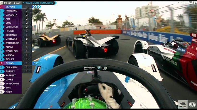Highlights from Formula EPrix in Sanya