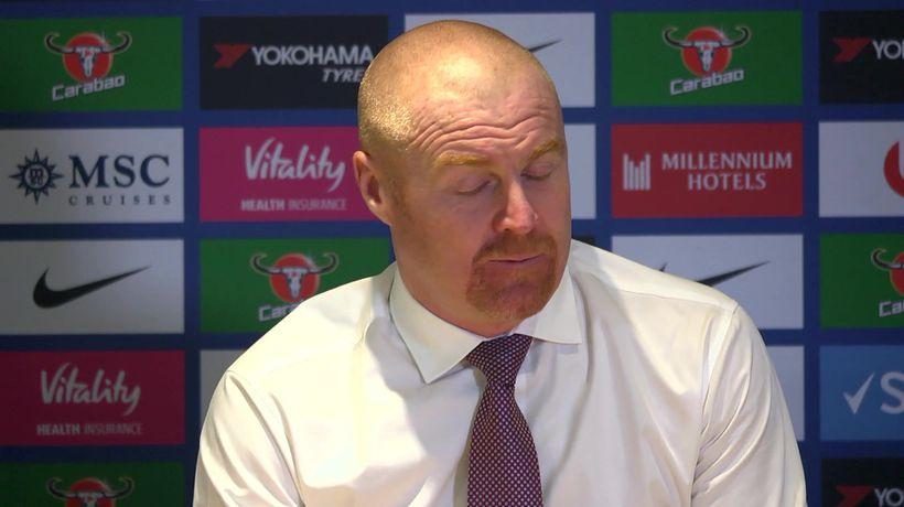 "Sean Dyche ""we needed to get that last point for 4"