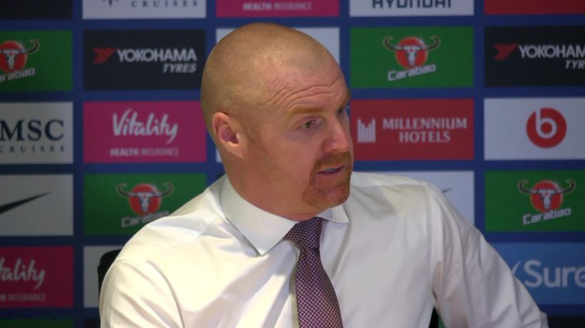 "Sean Dyche on the tunnel scuffle & ""we are allowe"