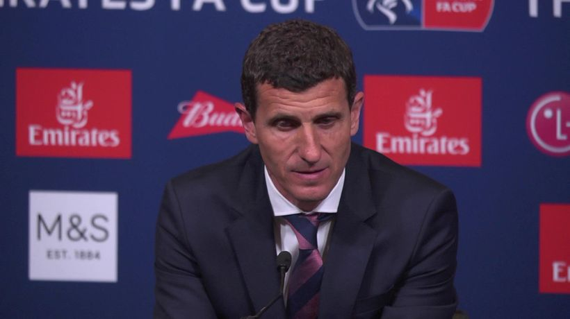 """javi gracia """"sometimes you have to live this defea"""