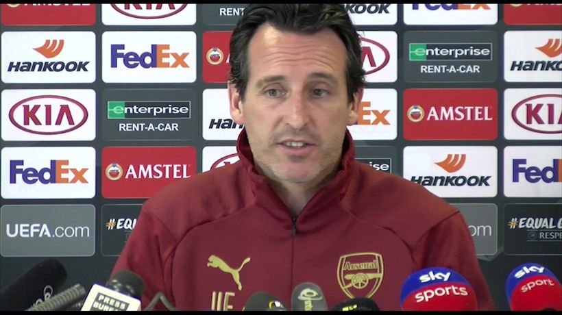 Europa League is a big title for me - Emery