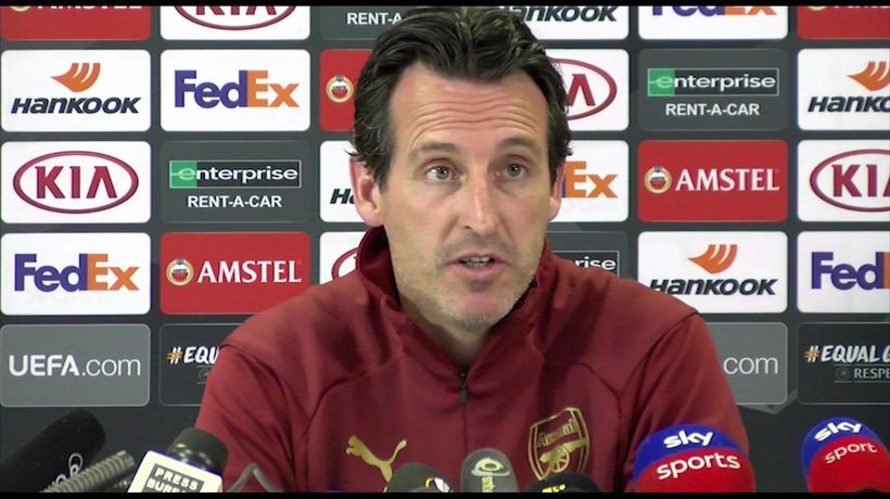 We need every player including Ozil - Emery