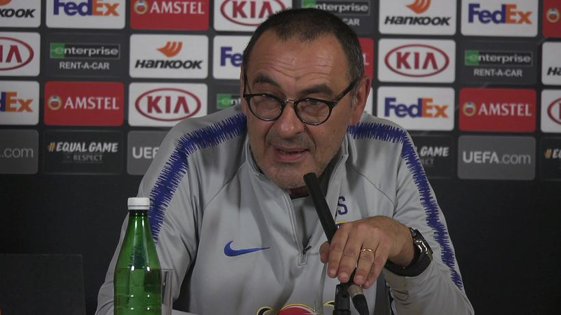 """Sarri """"if my future is decided on this match then"""
