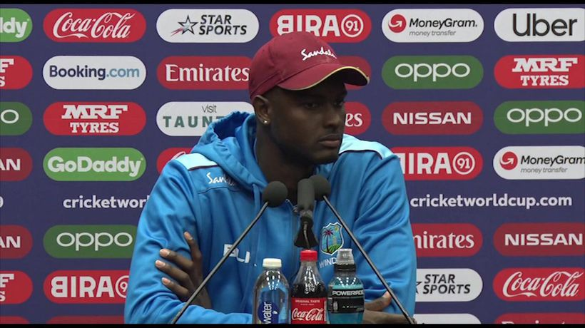 West Indies Jason Holder pre Bangladesh