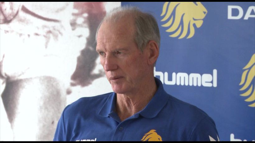 Great Britain Rugby League coach Wayne Bennett