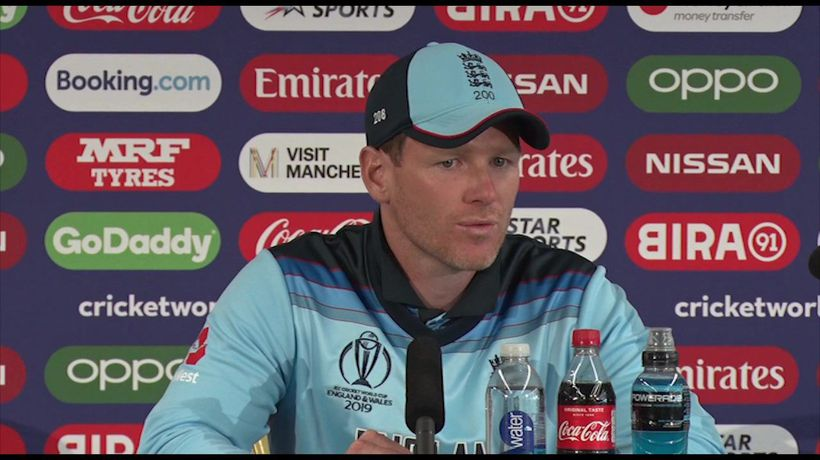 England's Eoin Morgan post win v Afghanistan