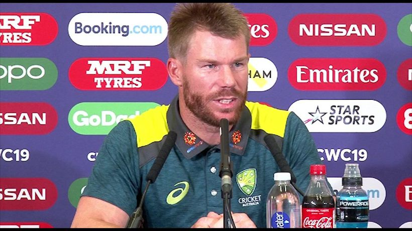 Australia's David Warner post win v Bangladesh