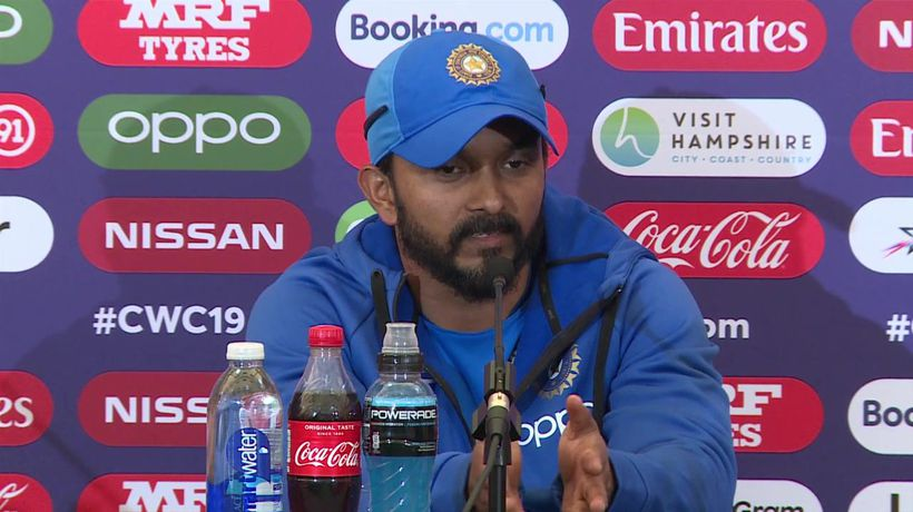 India's Kedar Jadhav post win v Afghanistan