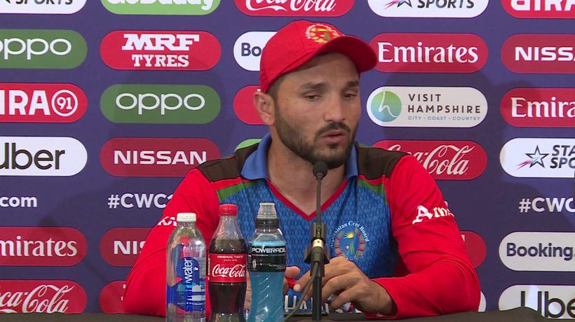 Afghanistan's Gulbadin Naib post loss to India