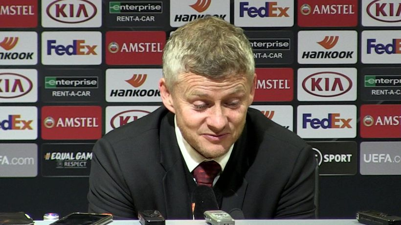 Didn't feel confident of a win - Solskjaer