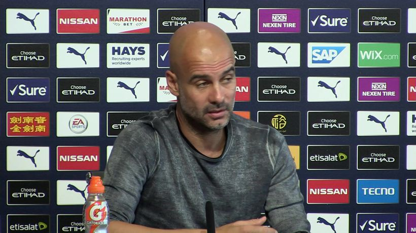 Now it's completely different - Guardiola