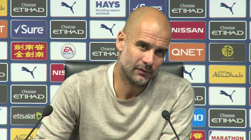 Very happy with the result - Guardiola