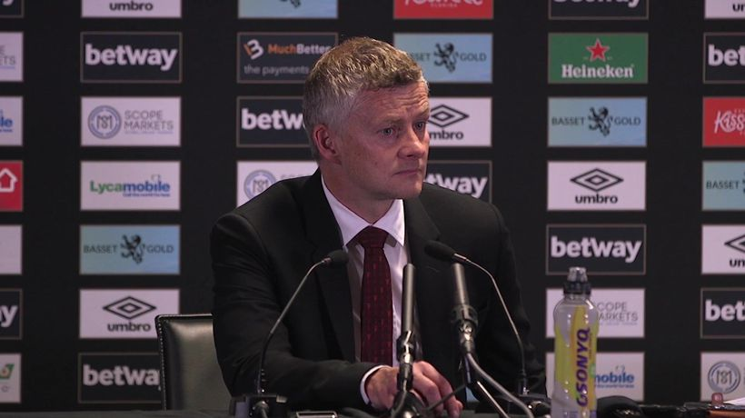 Ole left disappointed by West Ham defeat