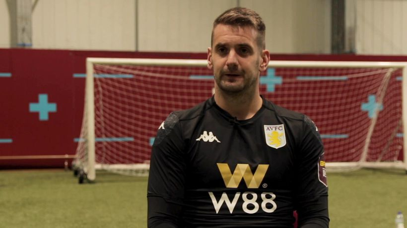 Interview with Tom Heaton