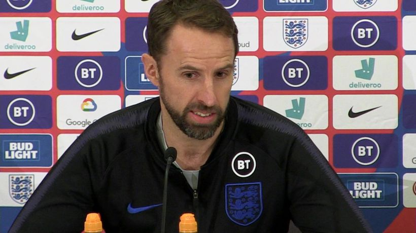 The group are moving forward - Southgate